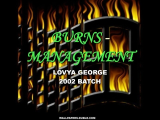 BURNS  -  MANAGEMENT