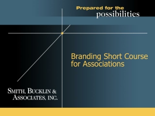Branding Short Course for Associations