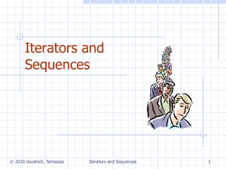 Iterators and Sequences