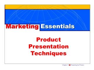 Product  Presentation Techniques