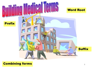 Building Medical Terms