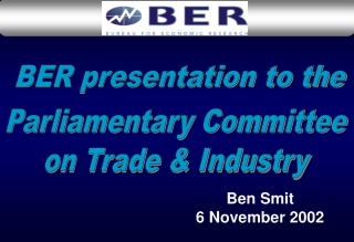 Ben Smit 6 November 2002