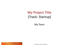 My Project Title (Track: Startup)