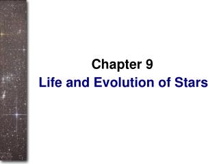 Life and Evolution of Stars