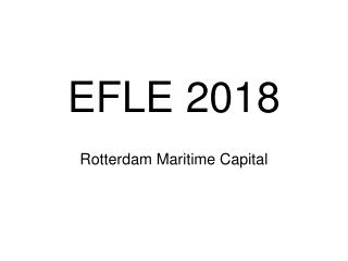EFLE 2018