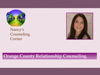 Orange County Relationship Counseling