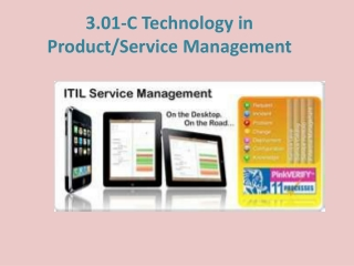 3.01-C Technology in Product/Service Management