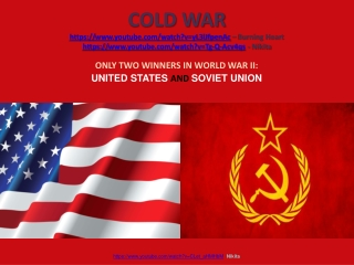 ONLY TWO WINNERS IN WORLD WAR II:   UNITED STATES  AND  SOVIET UNION