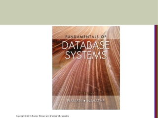 CHAPTER 9 Relational Database Design by ER- and EERR-to-Relational Mapping