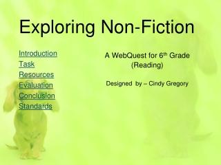 Exploring Non-Fiction