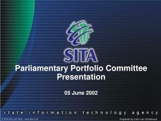 Parliamentary Portfolio Committee Presentation  05 June 2002