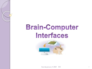 Brain-Computer Interfaces