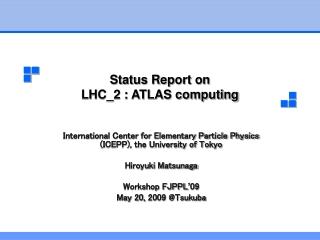 Status Report on LHC_2 : ATLAS computing