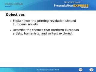 Explain how the printing revolution shaped European society.