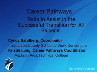 Career Pathways: