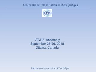 International Association of Tax Judges