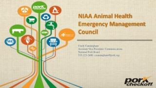 NIAA Animal Health Emergency Management Council