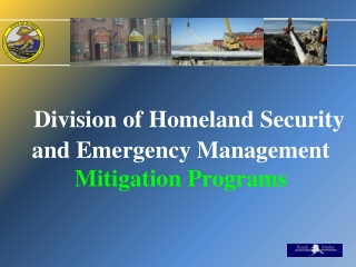 Division of Homeland Security and Emergency Management  Mitigation Programs