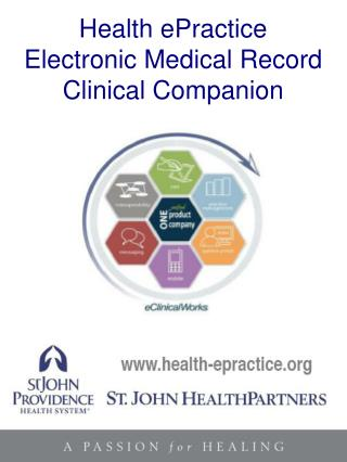 Clinical Companion eClinicalWorks