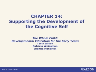 CHAPTER 14: Supporting the Development of the Cognitive Self