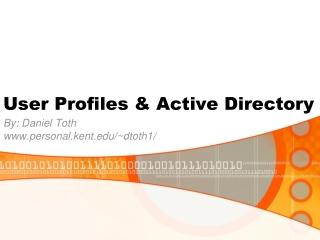 User Profiles & Active Directory