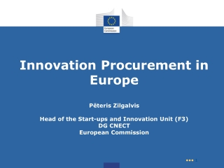 Why Innovation Procurement?