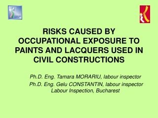 RISKS CAUSED BY OCCUPATIONAL EXPOSURE TO PAINTS AND LACQUERS USED IN CIVIL CONSTRUCTIONS