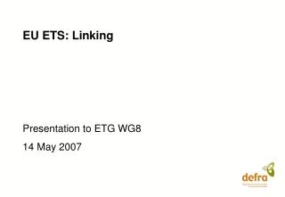 EU ETS: Linking