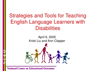 Strategies and Tools for Teaching English Language Learners with Disabilities