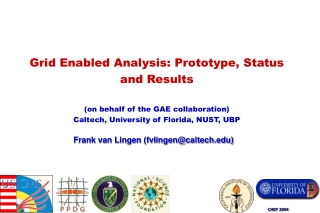 Frank van Lingen (fvlingen@caltech)