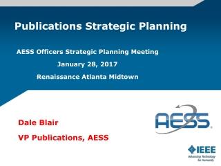 Publications Strategic Planning