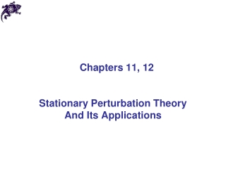 Chapters 11, 12