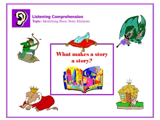 Listening Comprehension Topic:  Identifying Basic Story Elements