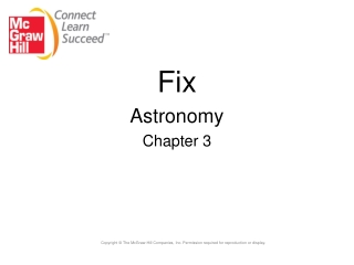 Fix  Astronomy Chapter 3