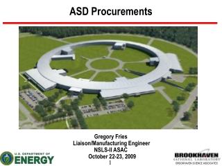 ASD Procurements