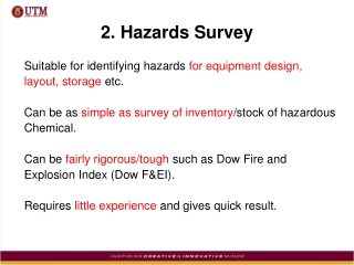 2. Hazards Survey