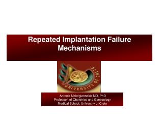Repeated Implantation Failure Mechanisms