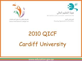 2010 QICF Cardiff University