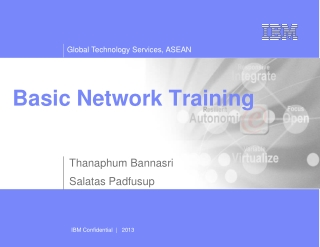 Basic Network Training