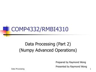 COMP4332/RMBI4310