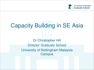 Capacity Building in SE Asia
