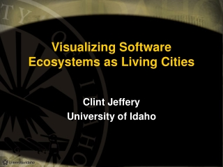 Visualizing Software Ecosystems as Living Cities