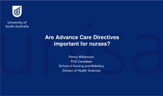 Are Advance Care Directives important for nurses?