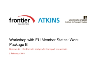 Workshop with EU Member States: Work Package B