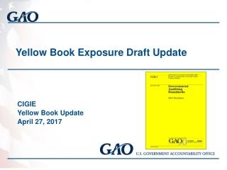 Yellow Book Exposure Draft Update