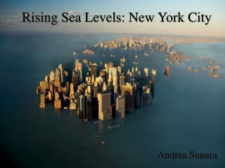 Rising Sea Levels: New York City