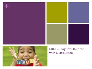 LUDI – Play for Children with Disabilities