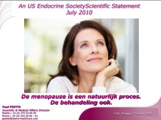 De menopause is een natuurlijk proces. De behandeling ook.