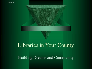 Libraries in Your County