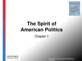 The Spirit of  American Politics